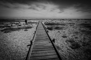 Dungeness Beach - I feel this shot captures the desolate and austere nature of the place